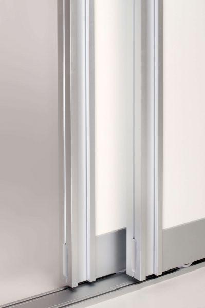 BS-Komfort mit Rahmentyp A Schiebetürbausatz ganze Tür