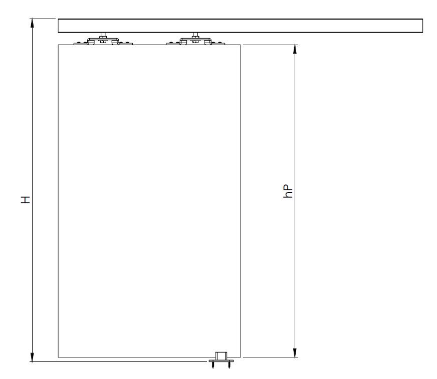 Montageskizze für HS-Standard