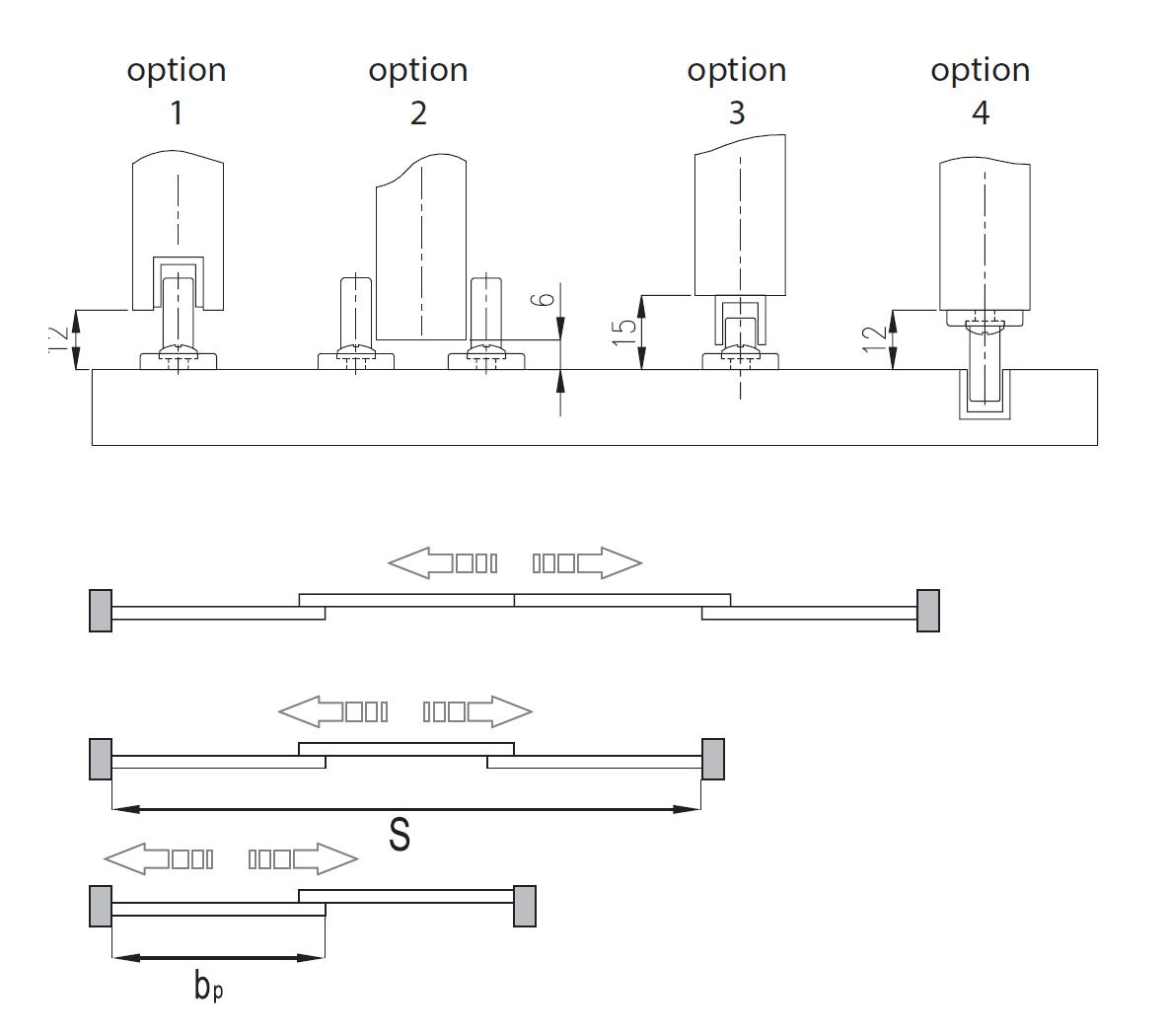 Montageskizze für MSH-Komfort