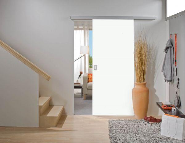 HS-Komplett | Rahmenlose Holzschiebetür auf Maß